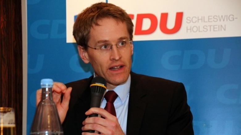 Der Vorsitzende der CDU-Landtagsfraktion, Daniel Günther, MdL